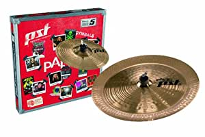 Paiste PST 5 Cymbal Effects Pack Set Only Setup 10-inch/18-inch
