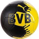 プーマ(PUMA) BVB(ドルトムント) ファンウェア ミニボール 082379 01 ブラック/サイバーイエロー MIN