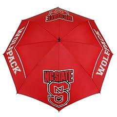 Buy NCAA North Carolina State Wolfpack 62-Inch WindSheer Hybrid Umbrella by Team Effort