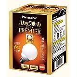 パナソニック 電球形蛍光灯 G形(ボール電球形状) 電球60Wタイプ 電球色 E26口金 パルックボール プレミアQ EFG15EL/10HS