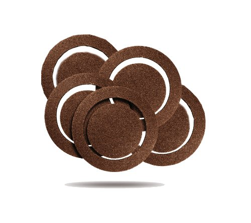 Rockwell RW9223 5-Inch 180 Grit Sanding Discs, 5-Pack for RK4245K, 5-Pack for RK4247K