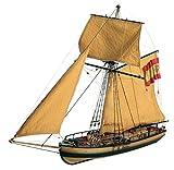 帆船模型キット アトレヴィータ ガンボート
