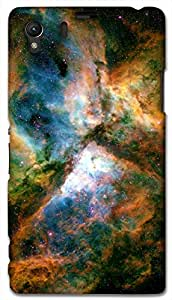 Timpax protective Armor Hard Bumper Back Case Cover. Multicolor printed on 3 Dimensional case with latest & finest graphic design art. Compatible with Sony L39H - Sony 39 Design No : TDZ-25669