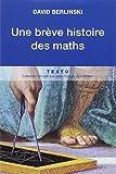 Une brève histoire des maths