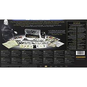 Alfred Hitchcock - Coffret - 14 Blu-ray [Édition Prestige]