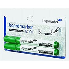 Marqueur pour tableau tZ 100-rechargeable-pointe 1,5/3 mm-vert-lot de 2 cartouches fusibles