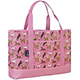 Wildkin Horses In Pink Tote-All Bag, One Size