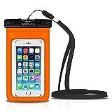 DBPOWER Universal Waterproof Phone Case - Orange