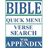Illustrated Bible King James Version (KJV): Illustrations of All books, SearchByVerse Feature and Unique Always Available QuickMenu