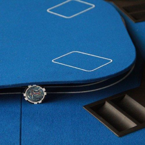 3-1 Folding Poker & Casino Table Top Blackjack & Craps