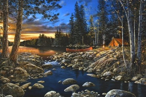 Jim Hansel 500 Piece Puzzle (Head Waters)