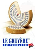 Gouda Cheese Shop Gruyere Cheese Swiss +/- 500 Grams / 1.1 lbs