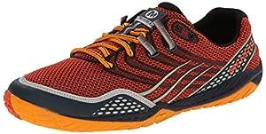Merrell Trail Glove 3, Men Trail Running Shoes, Orange (Spicy Orange/Navy), 7 UK (41 EU)