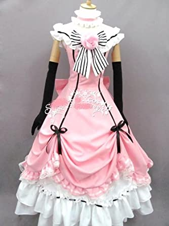 Black Butler Costume Kuroshitsuji Ciel Full Set Cosplay Dress Any Size/ Tailor-made