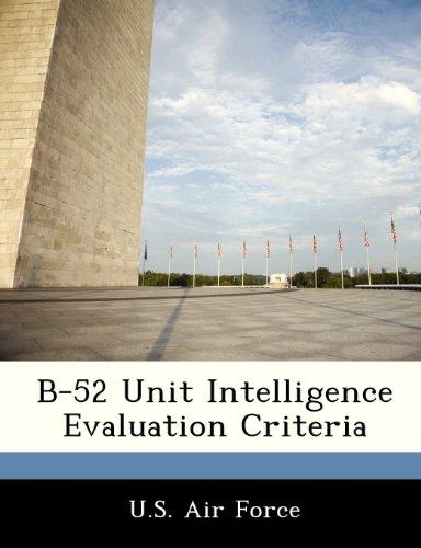 B-52 Unit Intelligence Evaluation Criteria