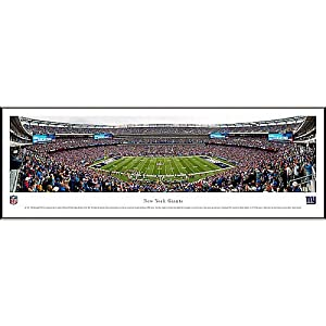 NFL New York Giants Framed Panoramic Stadium Photo by Blakeway Worldwide Panoramas