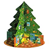 Advent Calendar - Carousel Christmas Tree - 3D stand up Advent calendarby Squashed Tomato
