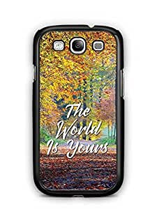 YuBingo The World is Yours Designer Mobile Case Back Cover for Samsung Galaxy S3
