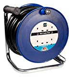 Masterplug 10amp 40m Cable Reel with Four Sockets and Thermal Cut Out