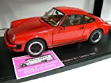 AUTOart Porsche 911 Carrera 3.2 1988 - Red 1:18 Scale Diecast Model