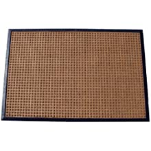 Durable Coporation Polyester Stop-N-Dry Abrasion Resistant Mat, for Indoors and Vestibules, Brown
