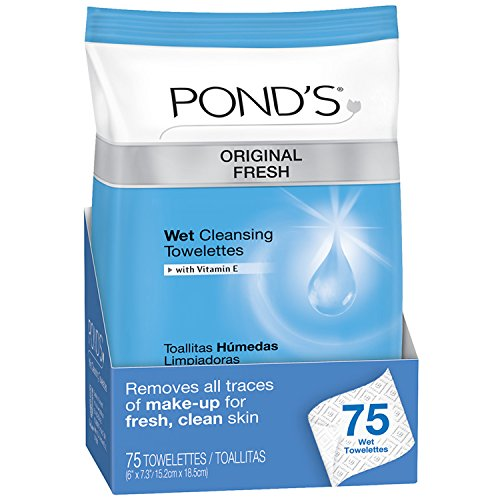 Pond's Original Fresh Wet Cleansing Towelettes 75 ct