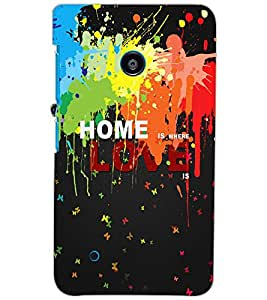 NOKIA LUMIA 530 DUAL HOME Back Cover by PRINTSWAG