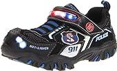 Skechers Kids 90348L Hot Lights Damager Police II Sneaker