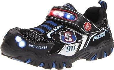 Skechers Kids 90348N Damager Police II Lighted Sneaker