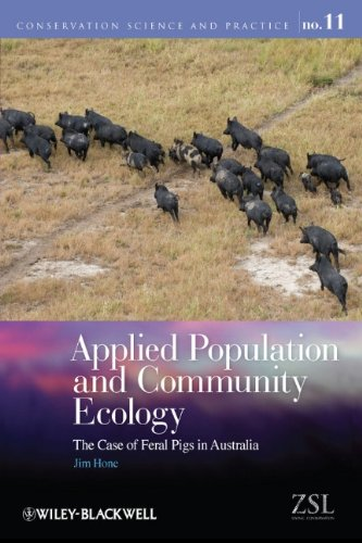 Applied Population and Community Ecology: The Case of Feral Pigs in Australia