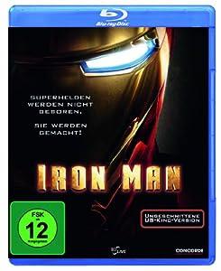 Iron Man (ungeschnittene US-Kinofassung)  [Blu-ray]