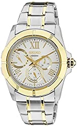 Seiko Lord Chronograph White Dial Mens Watch - SNT044P1