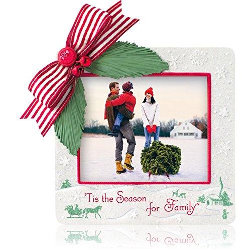 1 X 'Tis The Season For Family Photo Holder - 2014 Hallmark Keepsake Ornament (Hallmark Tis The Season compare prices)