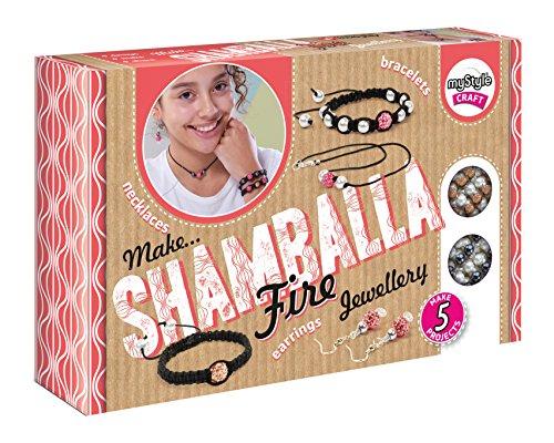 Kit MyStyle Shamballa feu Bijoux Artisanat