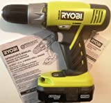 "Ryobi One P271 18-volt 1/2"", Cordless Autoshift Drill (Includes P102 Battery) Charger Sold Separately"