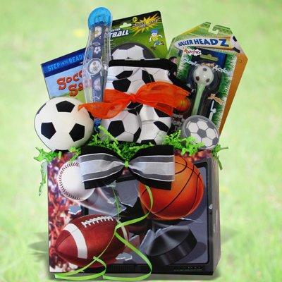 Soccer Gift Basket Ideal Get Well, Birthday Gift for Soccer Lover