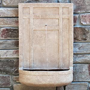 The sicily outdoor wall fountain in - Wall mounted water feature ...