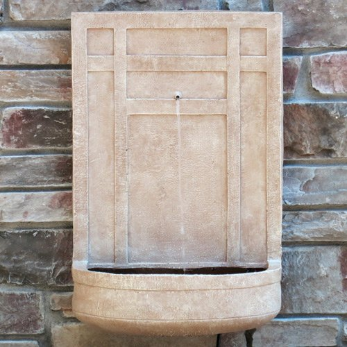 Sicily Outdoor Wall Fountain