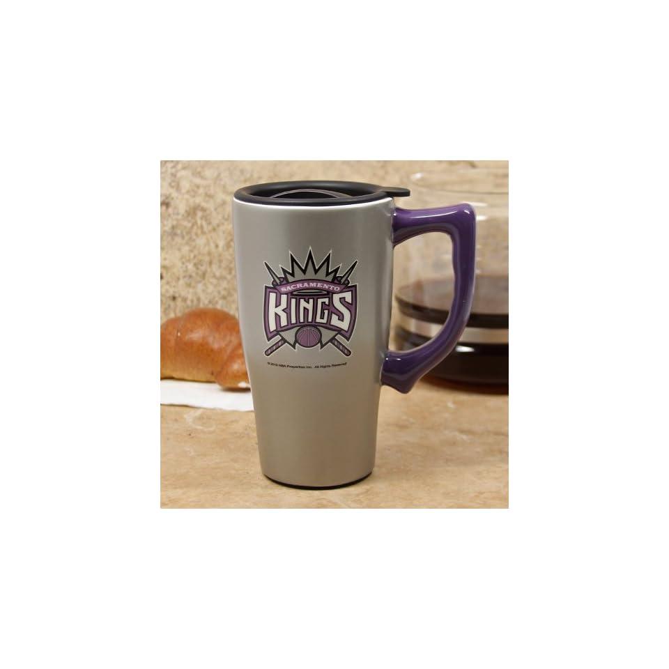 Sacramento Kings Nba Basketball Ceramic Coffee Travel Mug