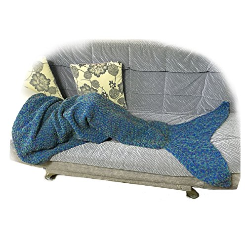 Knitting Pattern Shark Sleeping Bag : Mermaid Tail Blankets and Shark Blankets WebNuggetz.com