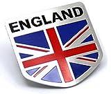 外車 3D ステッカー シール 国旗 (イギリス)