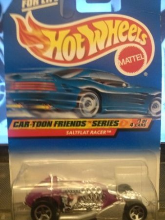 Hot Wheels Car-toon Friends Series #1 of 4 Saltflat Racer 985 - 1