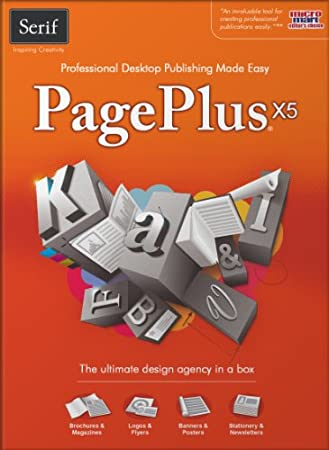 Serif PagePlus X5 [Download] [OLD VERSION]