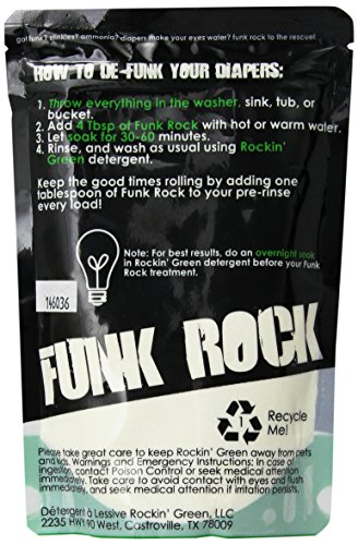 Rockin' Green, Funk Rock, All Natural Ammonia Bouncer, 16 oz (.45 kg)
