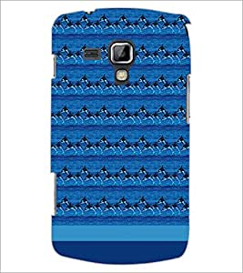 PrintDhaba Dolphin Pattern D-1854 Back Case Cover for SAMSUNG GALAXY S DUOS 2 S7582 (Multi-Coloured)