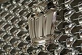 ベイロードヨコハマ フルメッキ トヨタ クラウン18系アスリート グリル用 フルメッキ王冠