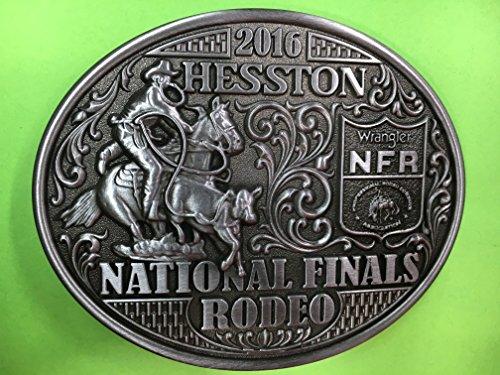 hesston-2016-national-finals-rodeo-nfr-adult-belt-buckle-new-cowboy-wrangler-prorodeo