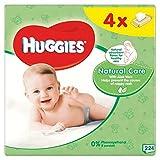 Huggies Natural Care Wipes 4 x 64 por paquete