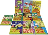 Nick Arnold Horrible Science 10 Childrens Books Set Collection RRP £59.99 ( Sounds Dreadful, Space Aliens, Terrible Truth About Time, Viclous Veg, Painful Poison, Microscopic Monsters, Killer Energy, Frightening Light, Fight for Flight, Angry Animals ) (