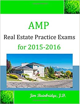 AMP Real Estate Practice Exams for 2015-2016